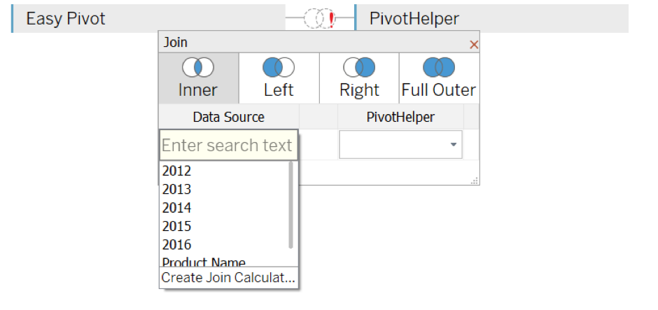 Tableau Training Pivot and Cross Joins
