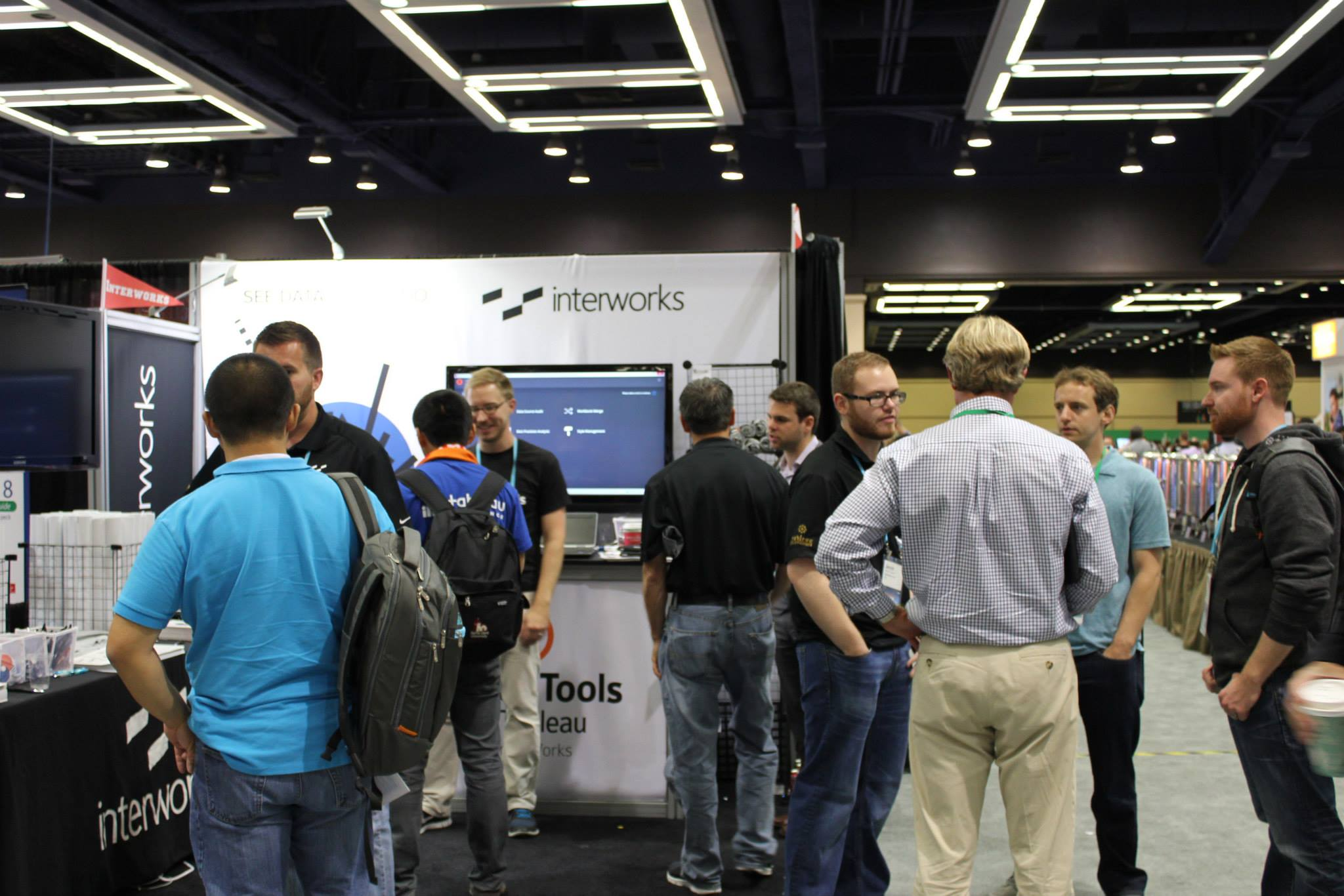 InterWorks' booth TC14
