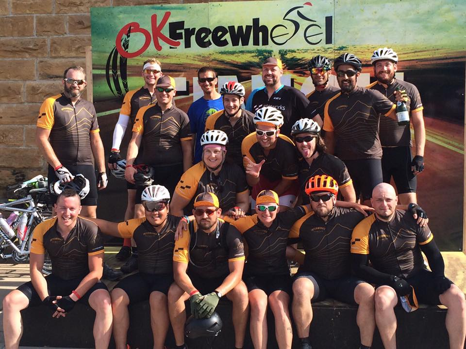 Team InterWorks at OK Freewheel 2016