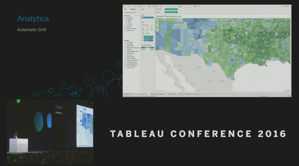Tableau Conference 2016 - Devs on Stage - Automatic Drill