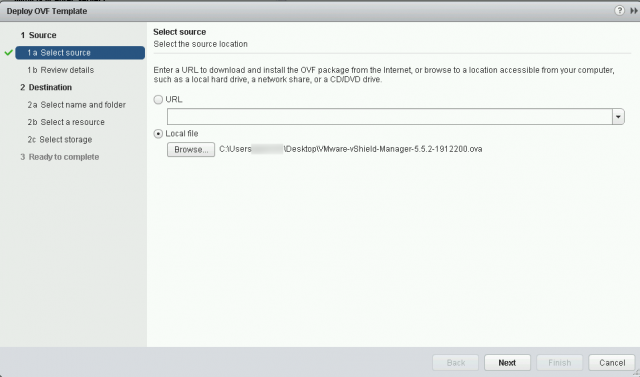 How To Deploy Ova Ovf Template Using Vmware Vsphere Web