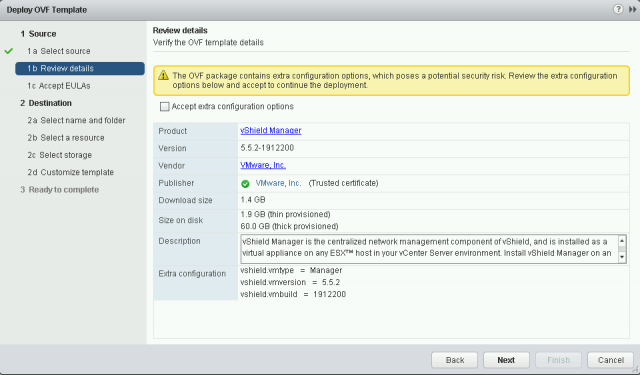 How to Deploy OVA / OVF Template Using VMware vSphere Web