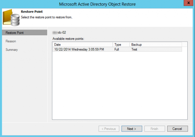 Veeam 8: Active Directory Explorer | InterWorks