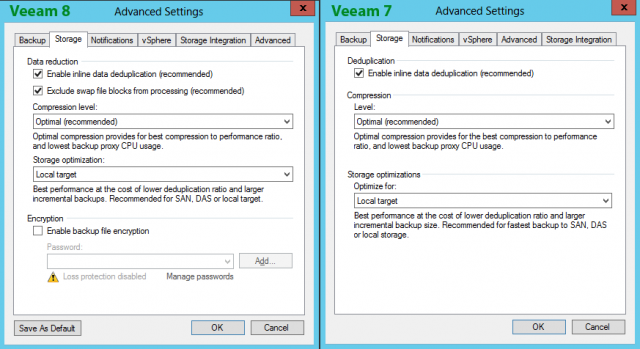 Veeam 8 vs  Veeam 7: Backup Jobs | InterWorks