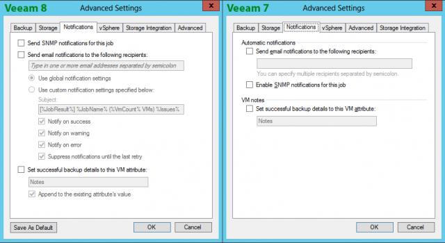 Veeam 8 vs  Veeam 7: Backup Jobs | InterWorks