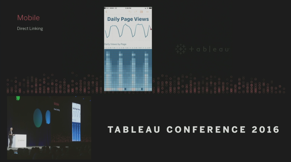 Tableau Conference 2016 - Devs on Stage - Direct Linking
