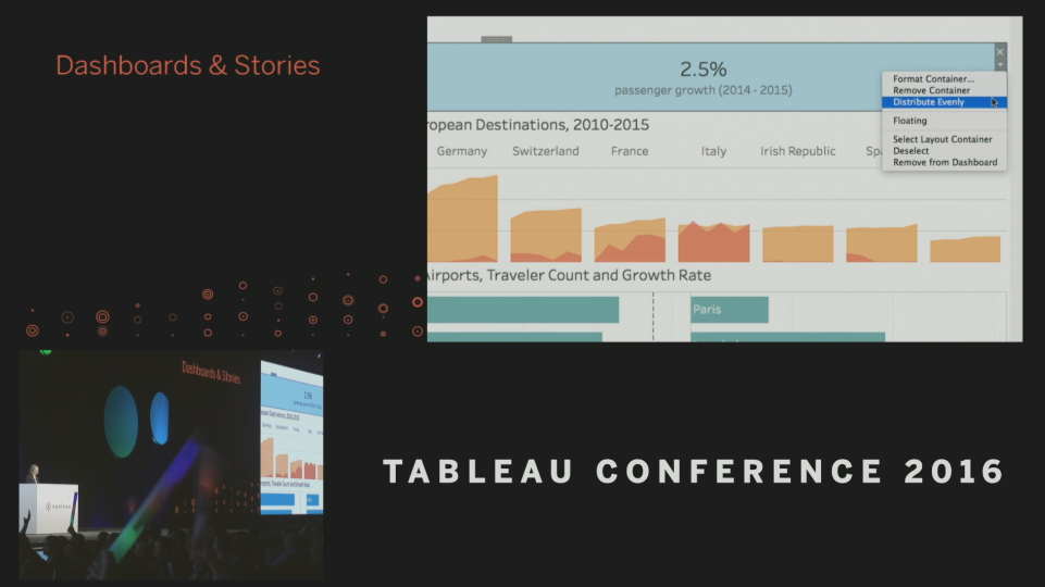 Tableau Conference 2016 - Devs on Stage - Distribute Evenly
