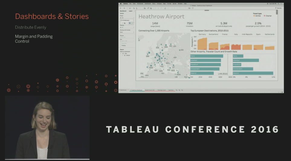 Tableau Conference 2016 - Devs on Stage - Margin & Padding Control