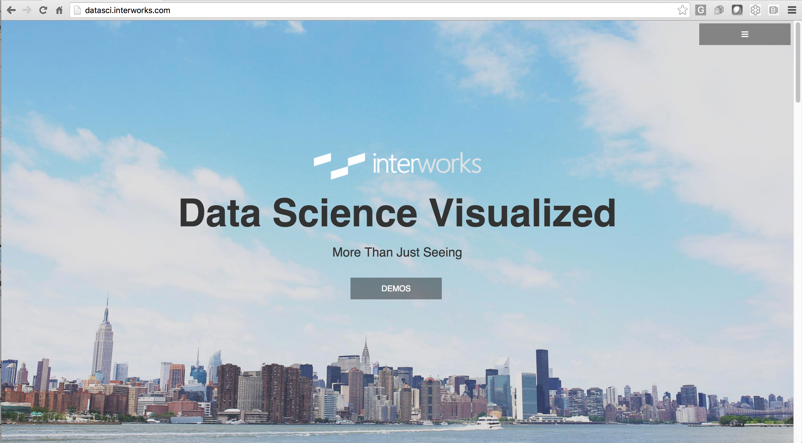 InterWorks' Data Science Portal