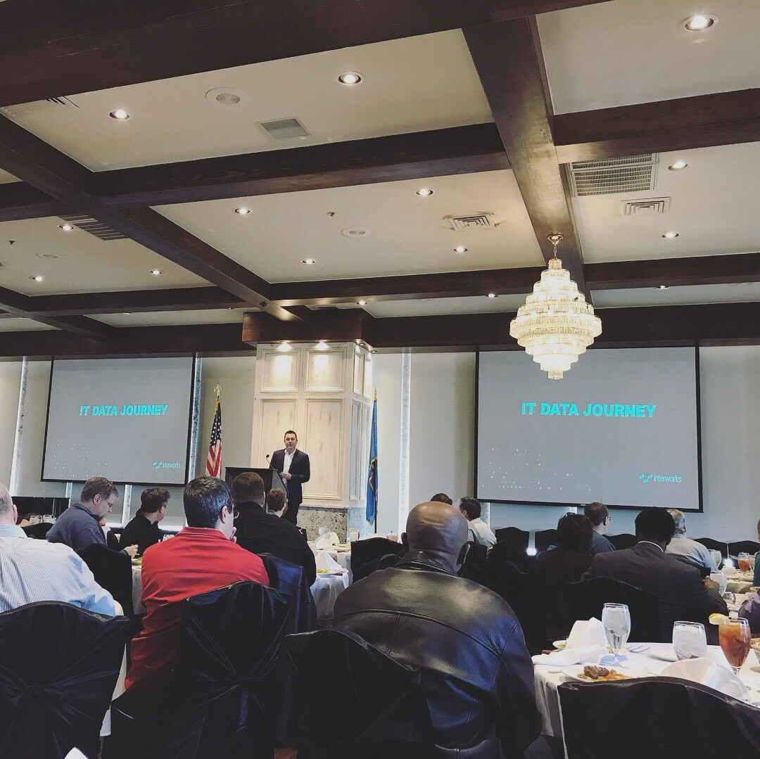 Russell Parker at the InterWorks Spring Lunch and Learn Series
