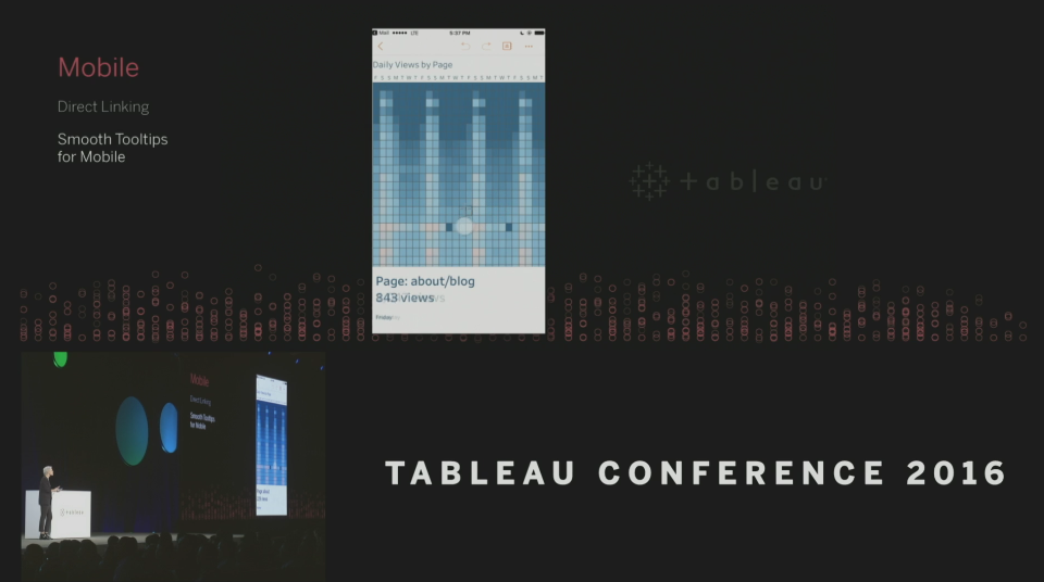 Tableau Conference 2016 - Devs on Stage - Smooth Tooltips
