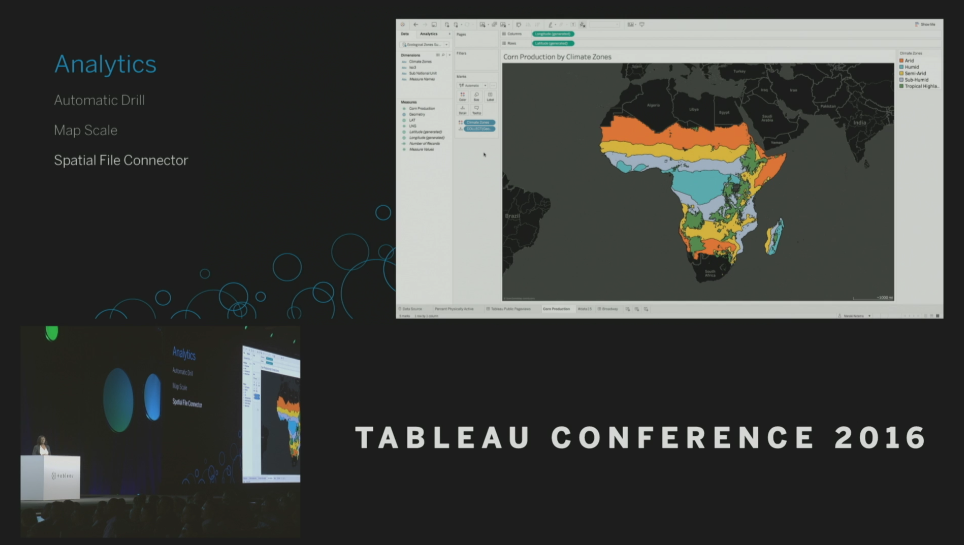 Tableau Conference 2016 - Devs on Stage - Spatial File Connector