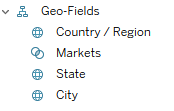 New Geo-Field hierarchy