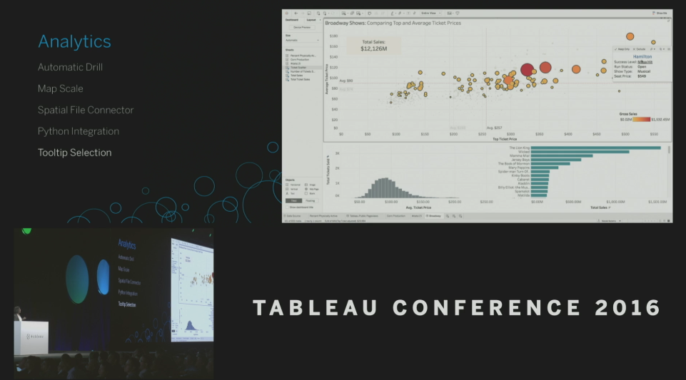 Tableau Conference 2016 - Devs on Stage - Tooltip Selection