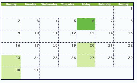 Creating Calendar Views in Tableau | InterWorks