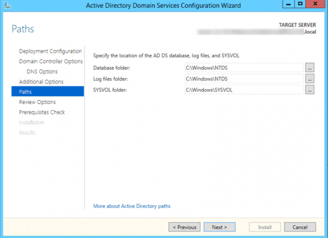 Promoting a Windows 2012R2 Server to Domain Controller