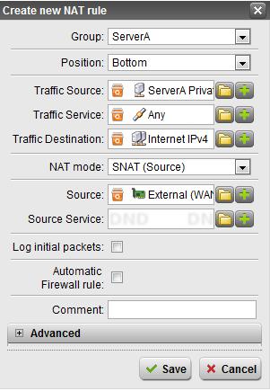 Astaro / Sophos UTM NAT / Firewall Rules | InterWorks