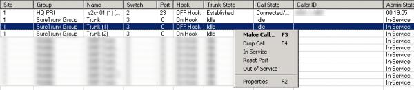 ShoreTel: Clearing Queue Monitor of a Caller No Longer Connected