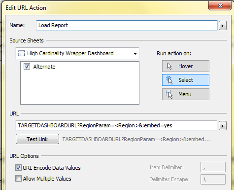 Leverage Tableau Server to create Dynamic Parameters
