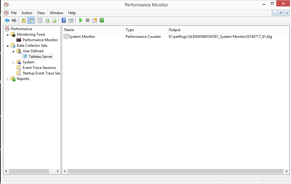 Performance Monitoring your Tableau Server Environment